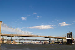 3 bridges in New York Royalty Free Stock Image