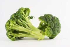3 brocolli绿色serries 免版税库存图片