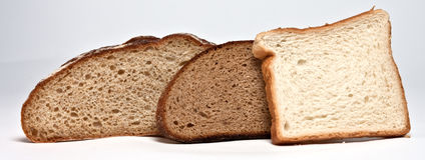 3 Brote Lizenzfreies Stockbild