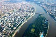 3 Budapest mini Zdjęcia Stock