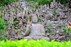 3 buddha nirvanasitting Arkivbilder