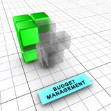 3-Budget management (3/6) Stock Image