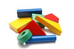 3 budować bloki Zdjęcia Stock