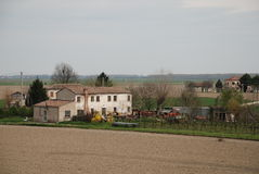 3 budynku uprawiają Veneto Zdjęcie Royalty Free