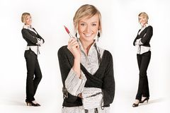 3 businesswoman Stock Photo