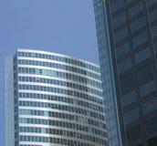 3 byggnader arkivfoto