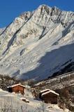 3 cabines vident la vallée de logarithme naturel Photos stock