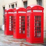 3 caixas do telefone Imagem de Stock Royalty Free
