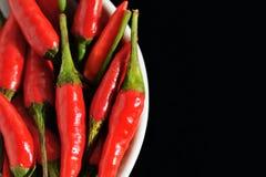 3 caldi e piccanti Fotografia Stock