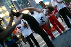 3 capoeira 库存图片