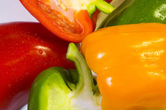 3 capsicum Obrazy Royalty Free
