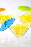 3 capsules Omega Photo stock