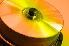3 cd轴心 免版税库存照片