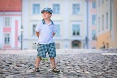 3 chłopiec trochę starych outdoors portreta rok Zdjęcie Stock