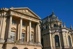 3 chateau versailles Fotografering för Bildbyråer