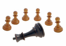 3 checkmate Obraz Royalty Free