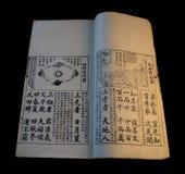 3 chińskiego stare książki Zdjęcie Royalty Free