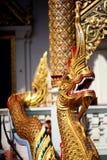 3 chiang国王mai nagas泰国 免版税库存照片