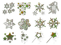 3 christmas stuff Στοκ εικόνες με δικαίωμα ελεύθερης χρήσης