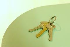 3 clés Image stock