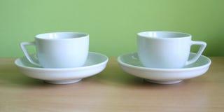 3 coffe sup Zdjęcie Royalty Free