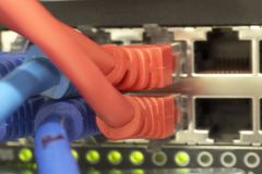 3 connections network Στοκ εικόνες με δικαίωμα ελεύθερης χρήσης