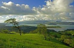 3 costa rica Arenal jeziora. Obrazy Stock