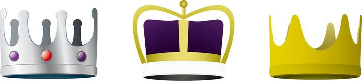 3 Crowns Royalty Free Stock Photo