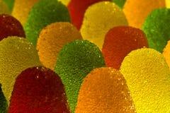 3 cukierków owoc Zdjęcie Stock