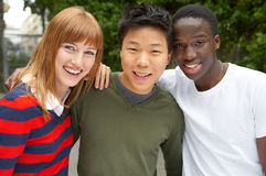 3 cultures together Royalty Free Stock Photos