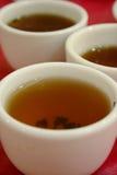 3 cuvettes de thé chinoises Images libres de droits