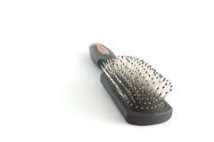 3 czarny hairbrush Obrazy Stock