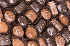 3 czekoladki Obraz Stock