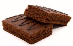 3 czekoladowego ciasta Zdjęcie Stock