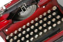 3 czerwone maszyny do pisania Zdjęcie Stock