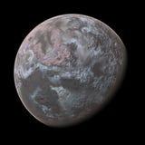 3 d 2 planety pozbawione Zdjęcie Stock