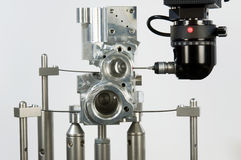 3-D-coordinate-measuring. 3 D coordinate measuring system stock image