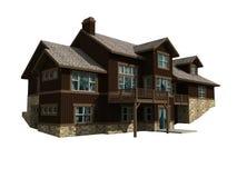 3 d domów poziomu 2 modelu Fotografia Royalty Free