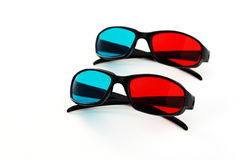 3-d glasses royalty free stock photo