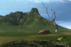 3 d krajobrazu Ilustracji