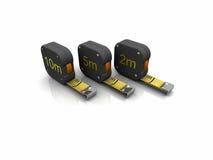 3 d narzędzia pomiarowego Zdjęcie Stock