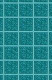 3 d pattern swirled tile Στοκ φωτογραφία με δικαίωμα ελεύθερης χρήσης