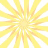3 d projektu starburst żółty Zdjęcie Stock