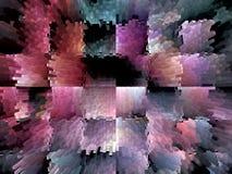 3 d stubarwny abstrakcyjne tło Zdjęcia Royalty Free