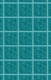 3-D swirled tile pattern Royalty Free Stock Photography