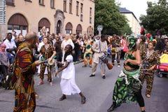3 dancingowa ulica Zdjęcie Royalty Free