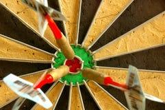 3 dards Image libre de droits