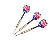 3 darts Royalty Free Stock Images