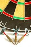 3 darts Stock Image