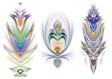 3 Decorative Design Elements Stock Photos